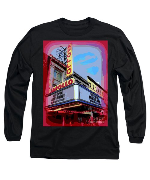 Amateur Night At The Apollo Long Sleeve T-Shirt by Ed Weidman