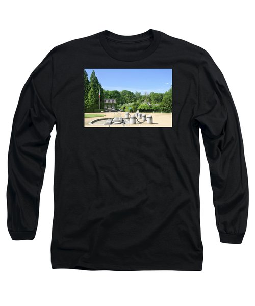 Long Sleeve T-Shirt featuring the photograph Armistice Clearing In Compiegne by Travel Pics