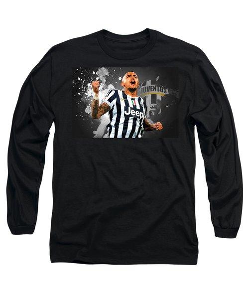 Arturo Vidal Long Sleeve T-Shirt by Semih Yurdabak