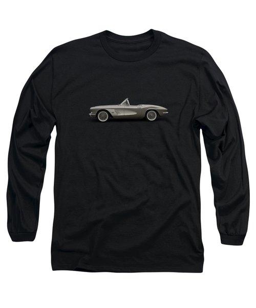 Vintage Champagne Long Sleeve T-Shirt by Douglas Pittman