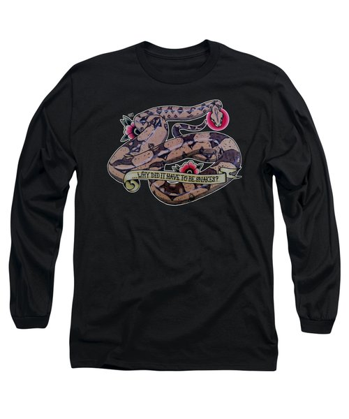 Have To Be Boa Long Sleeve T-Shirt by Donovan Winterberg