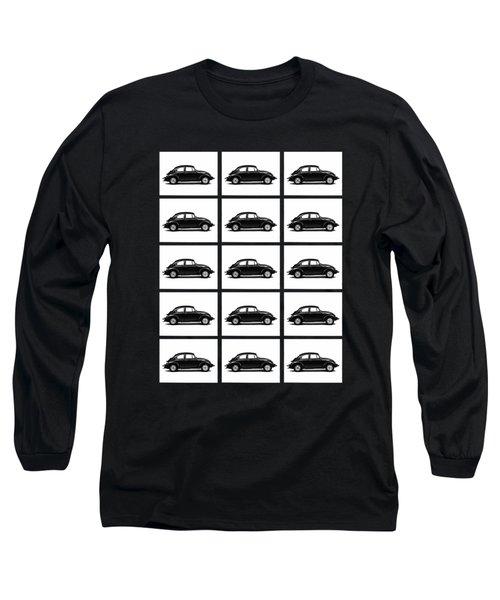 Vw Theory Of Evolution Long Sleeve T-Shirt by Mark Rogan