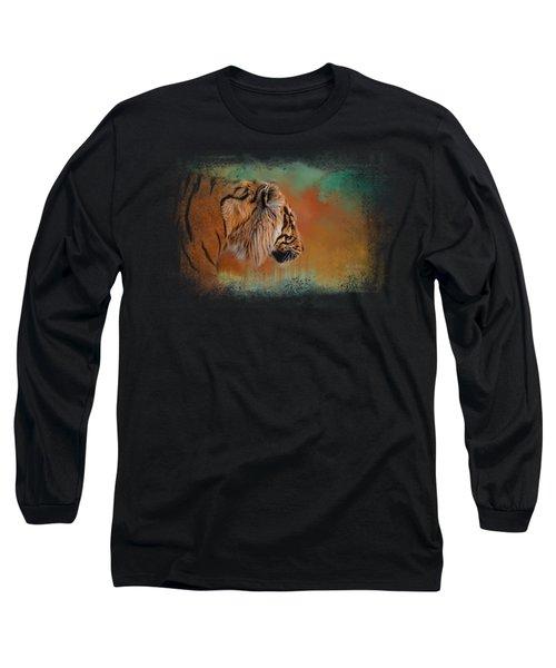 Bengal Energy Long Sleeve T-Shirt by Jai Johnson