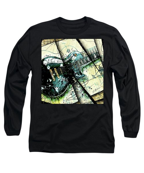 Black Beauty C 1  Long Sleeve T-Shirt by Gary Bodnar