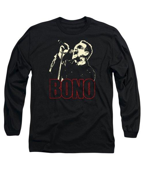 Bono Tour 2016 Long Sleeve T-Shirt by Gandi Rismawan