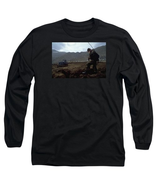Long Sleeve T-Shirt featuring the photograph Boots On The Ground by Travel Pics