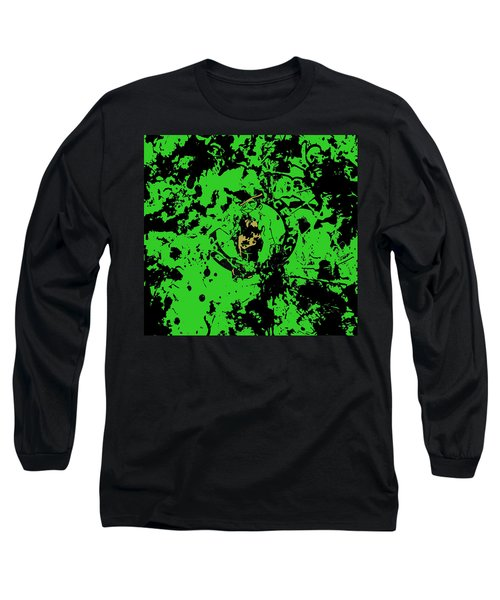 Boston Celtics 1b Long Sleeve T-Shirt by Brian Reaves