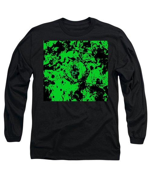 Boston Celtics 1c Long Sleeve T-Shirt by Brian Reaves