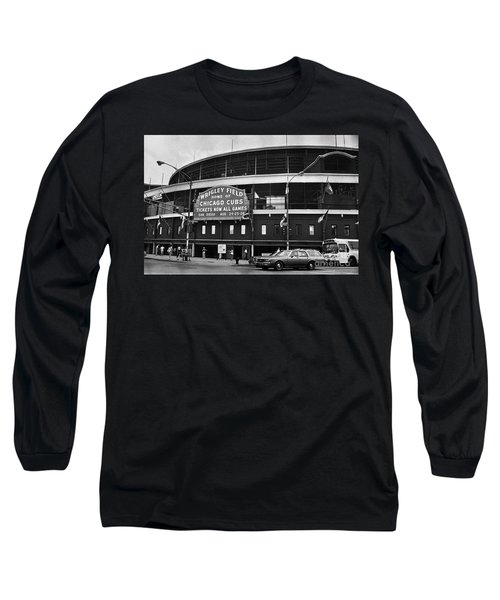 Chicago: Wrigley Field Long Sleeve T-Shirt by Granger