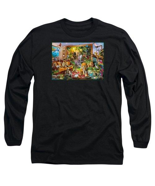 Coming To Room Long Sleeve T-Shirt by Jan Patrik Krasny
