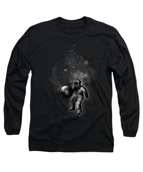 Deep Sea Space Diver Long Sleeve T-Shirt by Nicklas Gustafsson