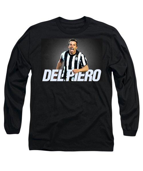 Del Piero Long Sleeve T-Shirt by Semih Yurdabak