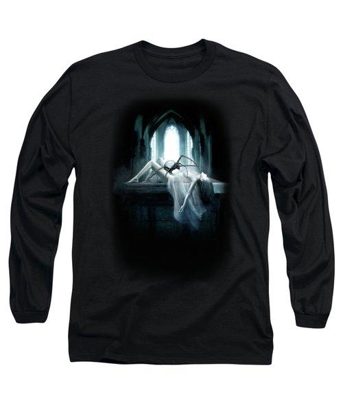 Demon Long Sleeve T-Shirt by Joe Roberts