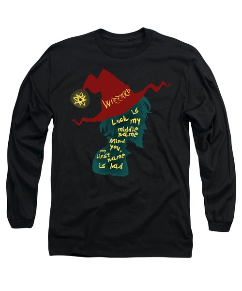 Discworld - Rincewind Long Sleeve T-Shirt by Sator