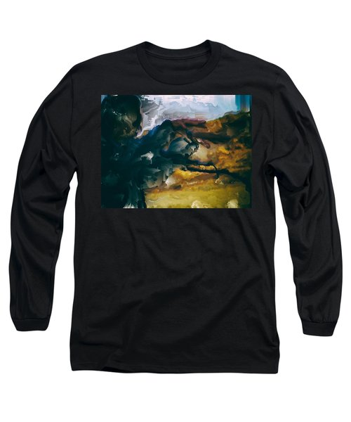 Donald Rumsfeld Gwot Vision Long Sleeve T-Shirt by Brian Reaves
