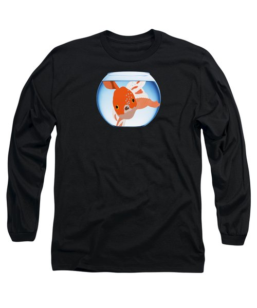 Fishbowl Long Sleeve T-Shirt by Priscilla Wolfe