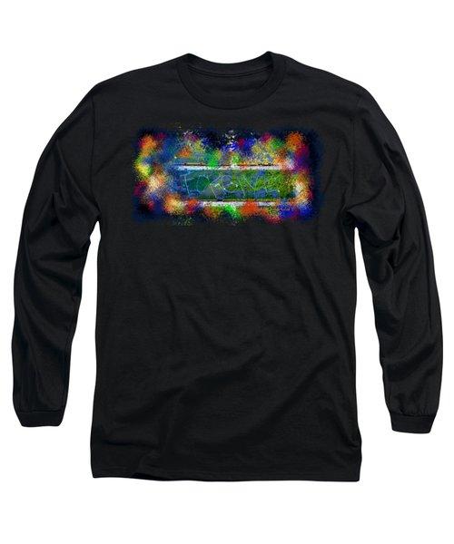 Forgive Brick Tshirt Long Sleeve T-Shirt by Tamara Kulish