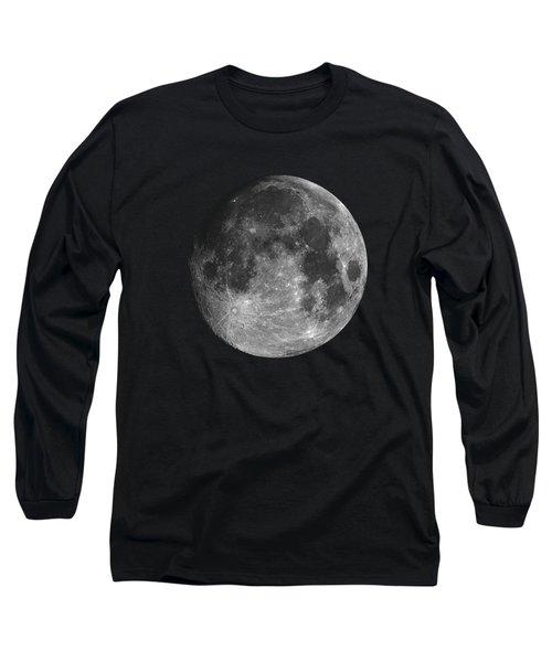 Full Moon Long Sleeve T-Shirt by Alexey Kljatov