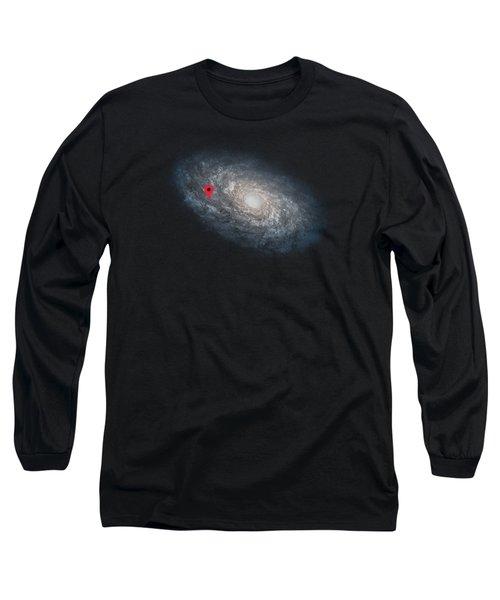 Funny Astronomy Universe  Nerd Geek Humor Long Sleeve T-Shirt by Philipp Rietz