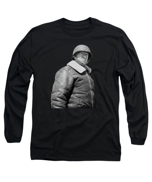 General George S. Patton Long Sleeve T-Shirt by War Is Hell Store
