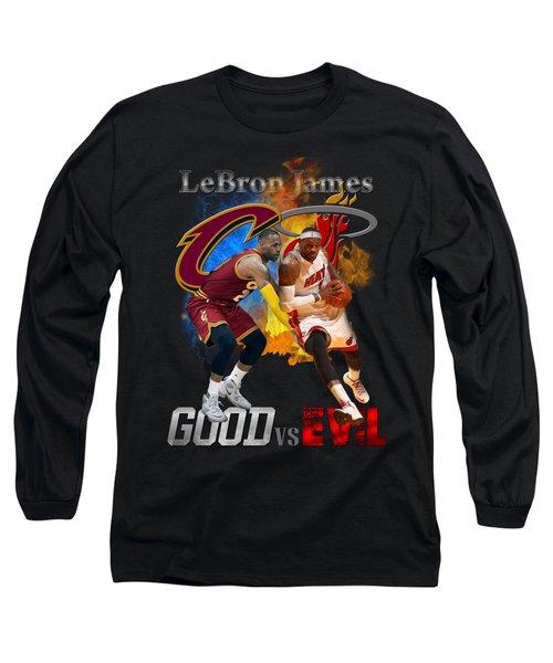 Goodevil Long Sleeve T-Shirt by Augen Baratbate