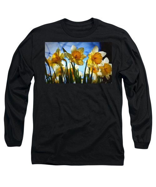 Hello Spring Long Sleeve T-Shirt by Cricket Hackmann