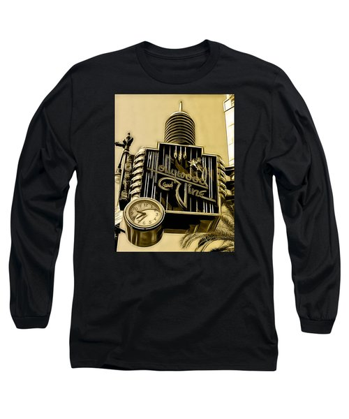 Hollywood And Vine Street Sign Collection Long Sleeve T-Shirt by Marvin Blaine