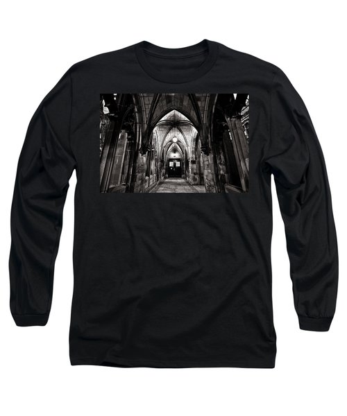 If These Walls Could Talk Long Sleeve T-Shirt by CJ Schmit