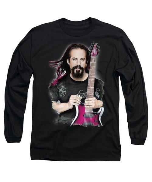 John Petrucci Long Sleeve T-Shirt by Melanie D