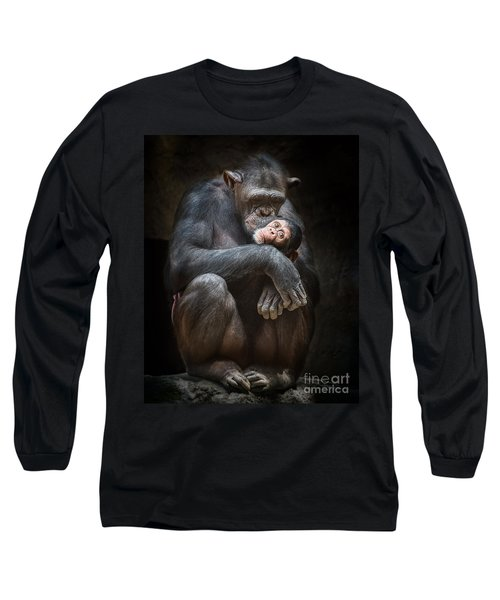 Kiss From Mom Long Sleeve T-Shirt by Jamie Pham