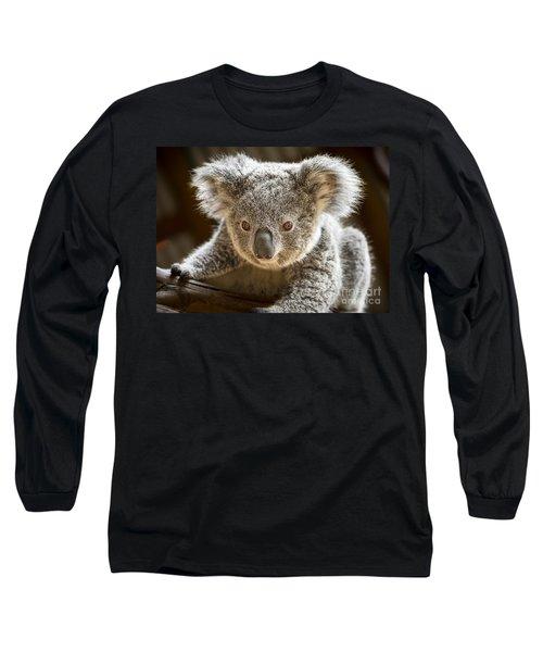 Koala Kid Long Sleeve T-Shirt by Jamie Pham