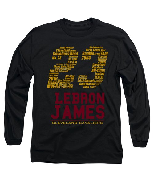 Lebron 23 Long Sleeve T-Shirt by Augen Baratbate