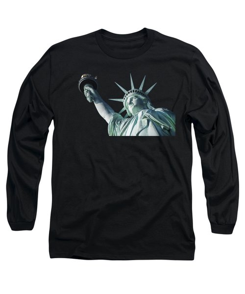 Liberty II Long Sleeve T-Shirt by  Newwwman