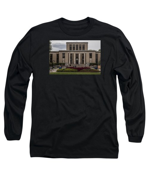 Library At Penn State University  Long Sleeve T-Shirt by John McGraw
