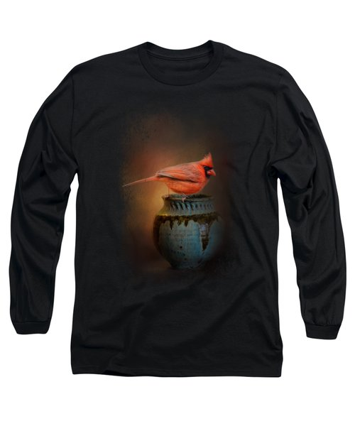 Little Red Guardian Long Sleeve T-Shirt by Jai Johnson