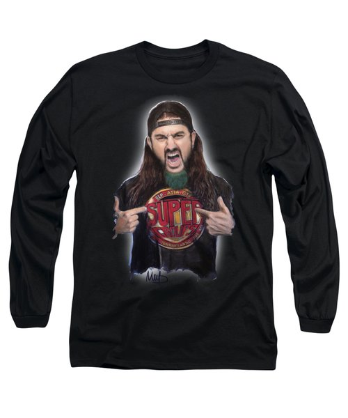 Mike Portnoy Long Sleeve T-Shirt by Melanie D