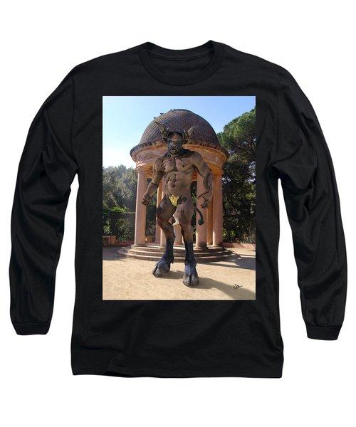 Monster Maze Long Sleeve T-Shirt by Joaquin Abella