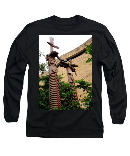 National Museum Of The American Indian 3 Long Sleeve T-Shirt by Randall Weidner