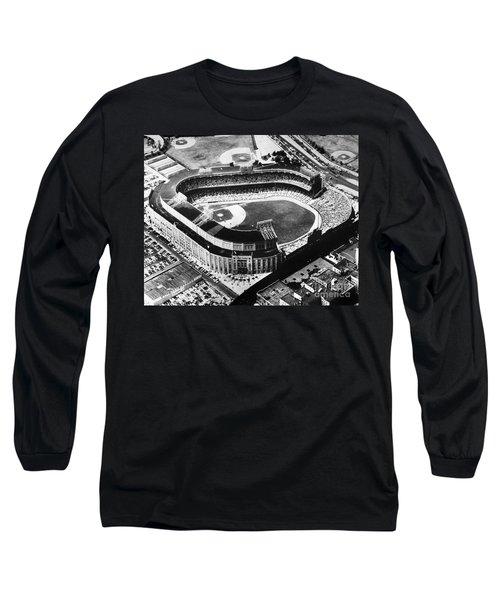 New York: Yankee Stadium Long Sleeve T-Shirt by Granger