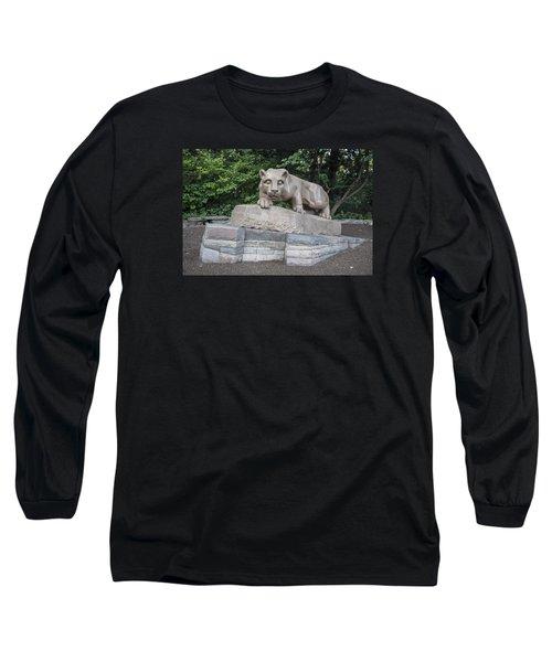 Penn Statue Statue  Long Sleeve T-Shirt by John McGraw