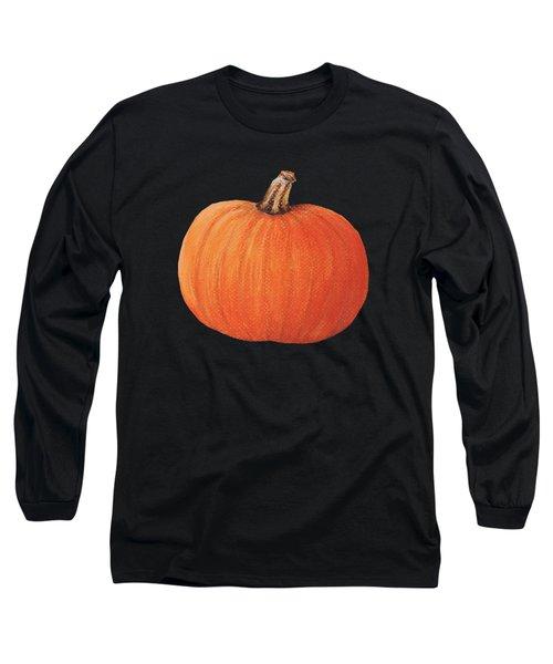 Pumpkin Long Sleeve T-Shirt by Anastasiya Malakhova