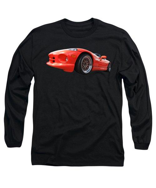 Red Viper Rt10 Long Sleeve T-Shirt by Gill Billington
