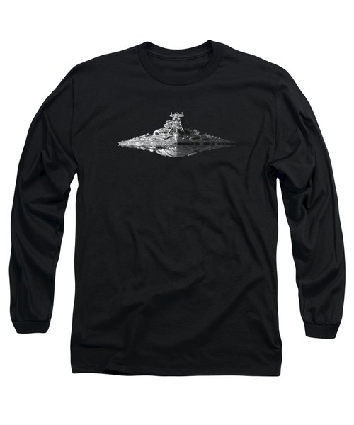Star Destroyer Long Sleeve T-Shirt by Ian King