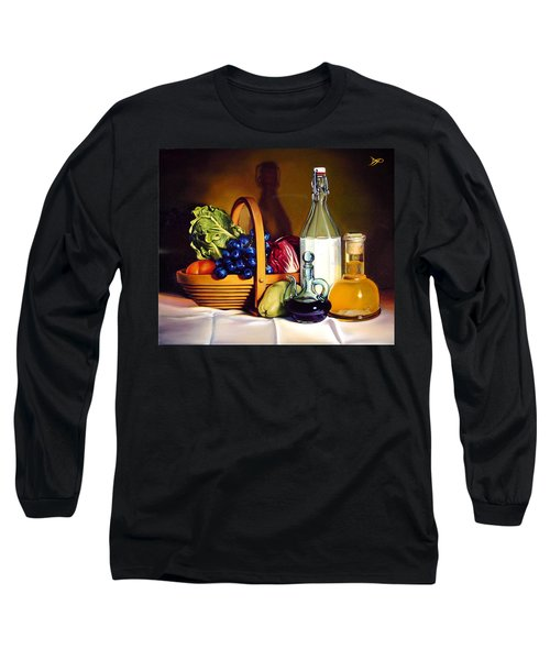 Still Life In Oil Long Sleeve T-Shirt by Patrick Anthony Pierson