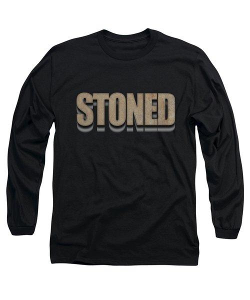 Stoned Tee Long Sleeve T-Shirt by Edward Fielding