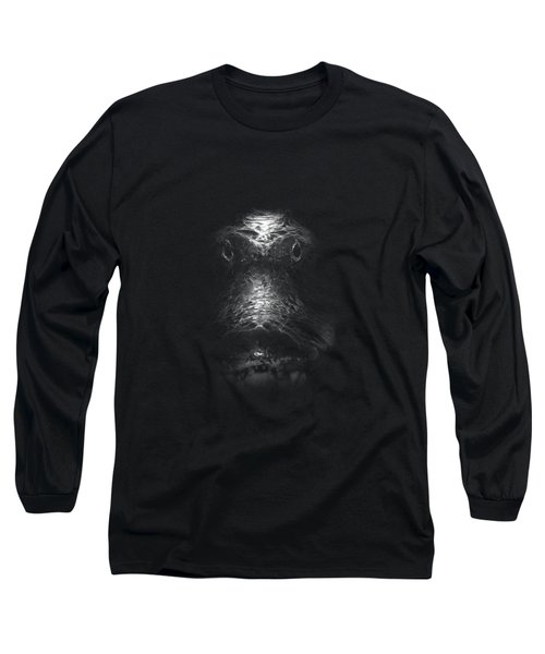 Swamp Thing Long Sleeve T-Shirt by Mark Andrew Thomas