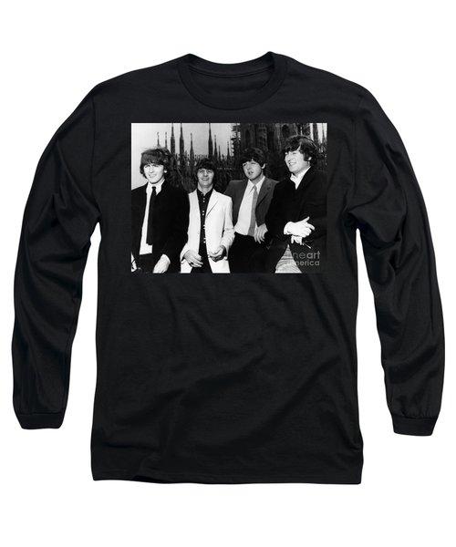 The Beatles, 1960s Long Sleeve T-Shirt by Granger