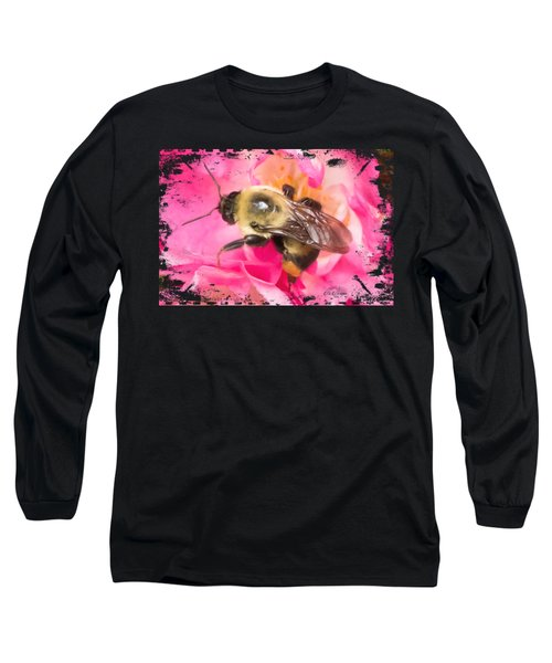 The Bees Are Back In Town Signature Series Long Sleeve T-Shirt by Di Designs