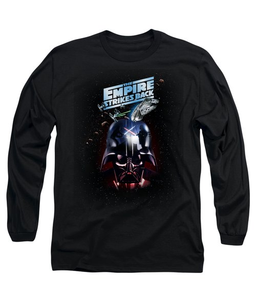 The Empire Strikes Back Long Sleeve T-Shirt by Edward Draganski