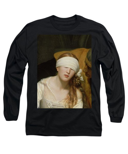The Execution Of Lady Jane Grey Long Sleeve T-Shirt by Hippolyte Delaroche